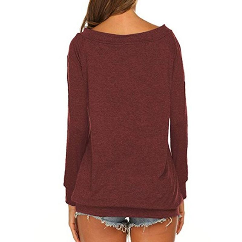 Women's Off The Shoulder Long-sleeve Top