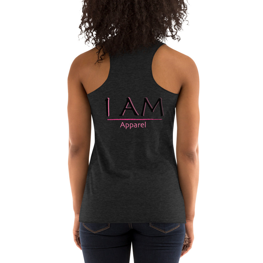 """I Am Unstoppable"" Racerback Tank"