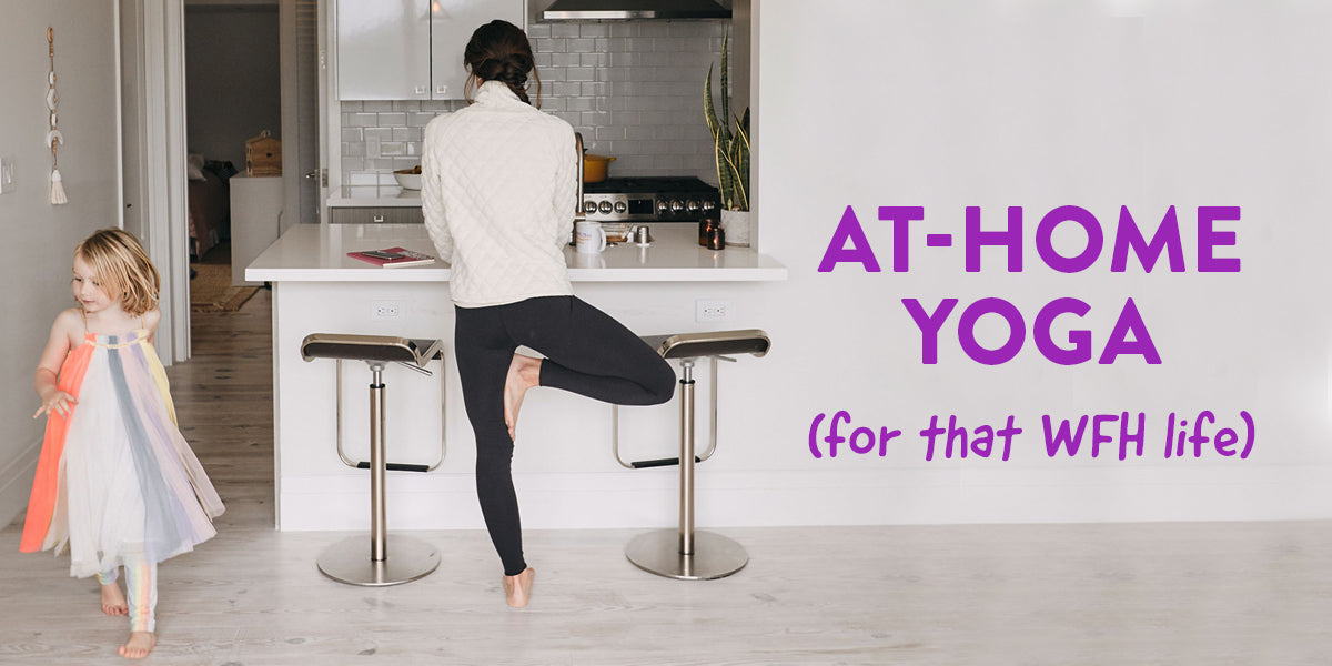 At-Home Yoga with Athletes For Yoga