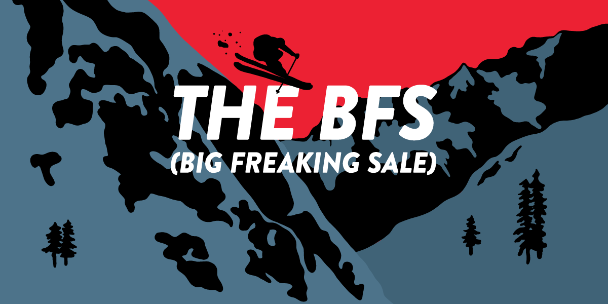 The Big Freaking Sale + Donation Days!
