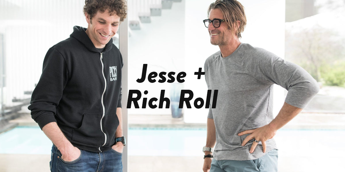 Jesse Thomas on the Rich Roll Podcast
