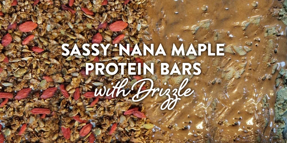 Sassy Nana Maple Protein Bars