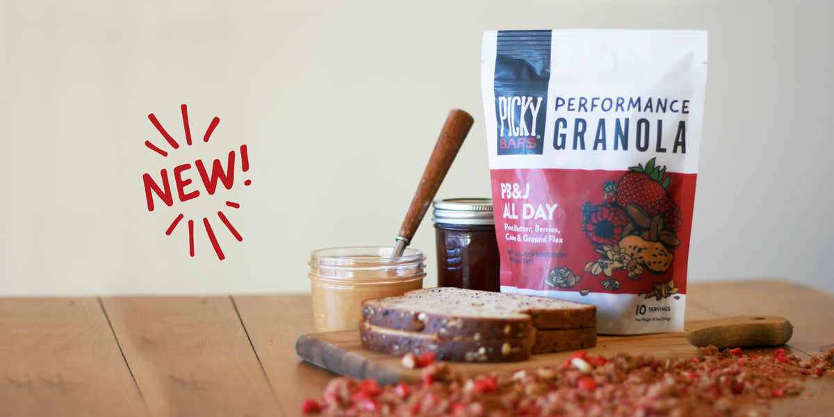 Introducing: Picky Bars Performance Granola!