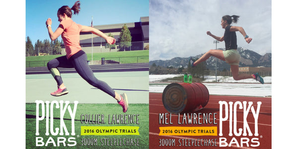 Steepling Lawrence Sisters at Olympic Trials