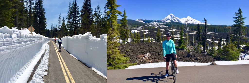 McKenzie Pass Ride Road Closed