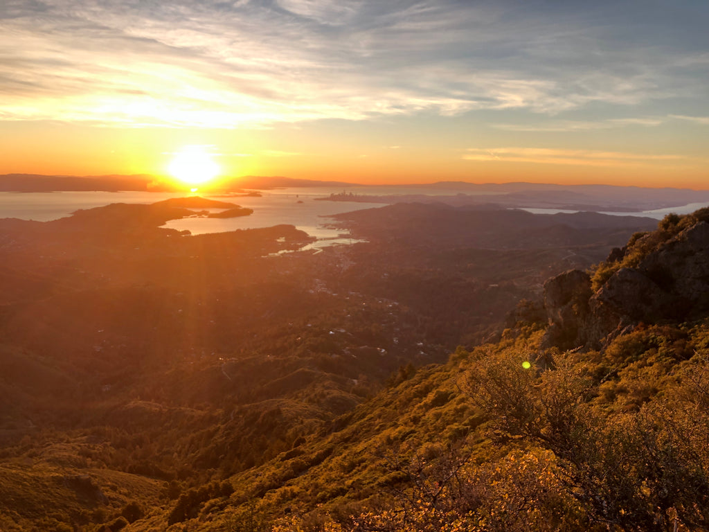 Lifepoints Adventure Guide Marin County Mt Tam Sunset