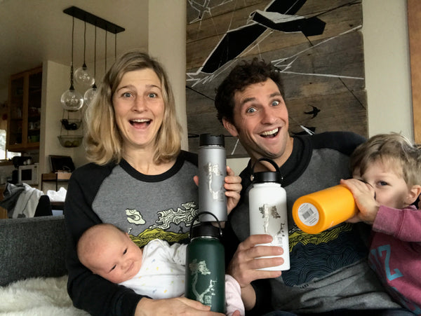 Lauren Fleshman Jesse Thomas Family Photo