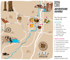 Bend Adventure Guide Map