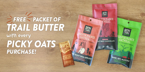 Picky Oats Trail Butter Promo