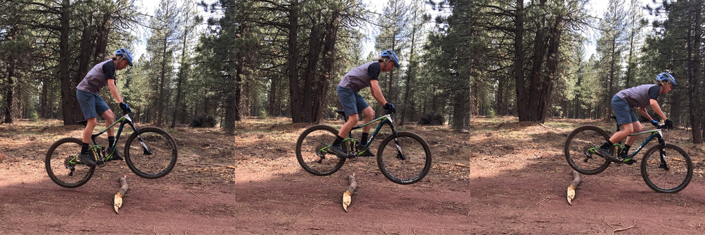 Lindsey Richter how to bunny hop mountain bike