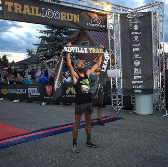 Rob Krar wins Leadville Trail 100 2018 photo credit Erin Strout