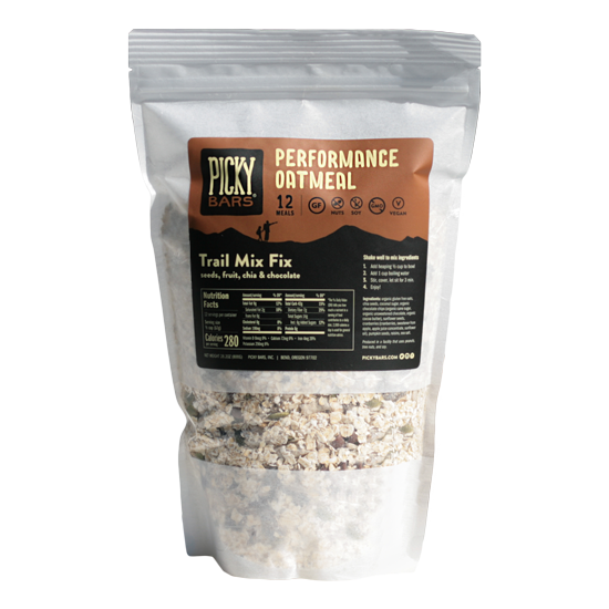 Trail Mix Fix Oatmeal