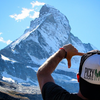 Forest Trucker hat Matterhorn pc @lukekellytravels