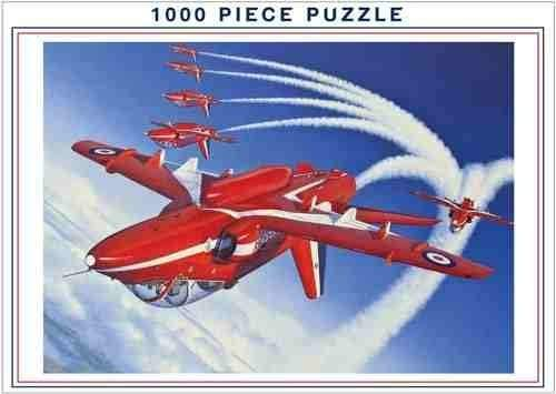 Royal Air Force Red Arrows 1000 Piece Jigsaw Puzzle