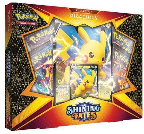 Pokemon Shining Fates Pikachu V Collection Box