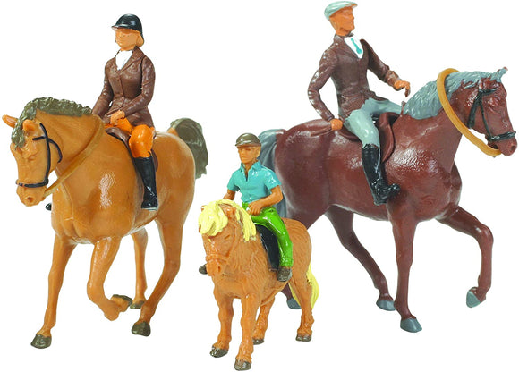 Britains 1:32 Horses and Riders Animal Figures, Collectable Toy Farm Accessory