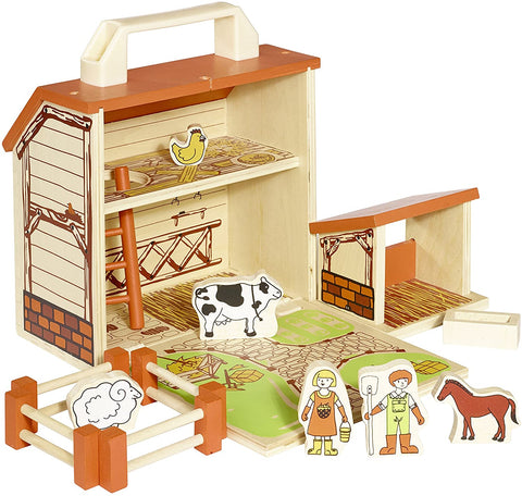 BoxSet Casdon Wood Play Barn