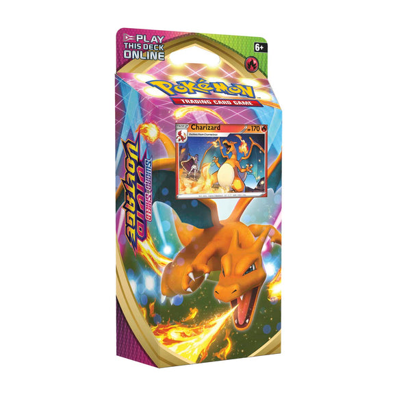 Pokémon TCG: Sword & Shield 4 Vivid Voltage Theme Deck Charizard