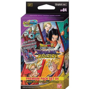 BANDAI DRAGON BALL SUPER CG: UNISON WARRIOR PREMIUM PACK SET 04 Pre Order Release 21/05/21