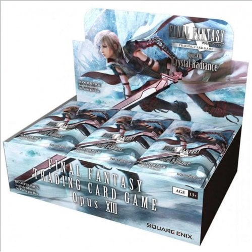 FINAL FANTASY FINAL FANTASY TRADING CARD GAME - OPUS XIII (13) - CRYSTAL RADIANCE BOOSTER BOX