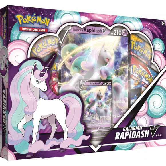 POKÉMON GALARIAN RAPIDASH V COLLECTION BOX