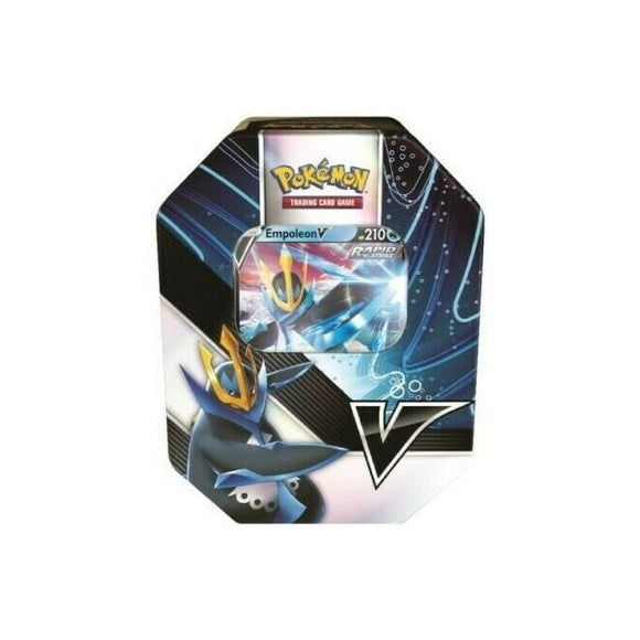 POKÉMON V STRIKERS TIN - EMPOLEON V Pre Orders Release 21/05/21