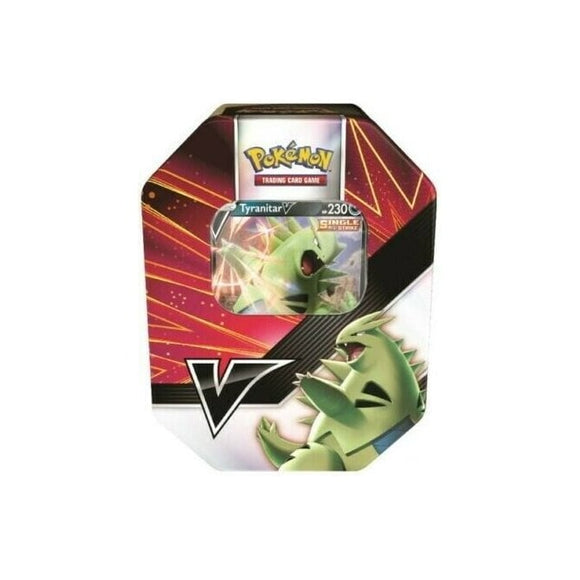 POKÉMON V STRIKERS TIN - TYRANITAR V Pre Order Release 21/05/21