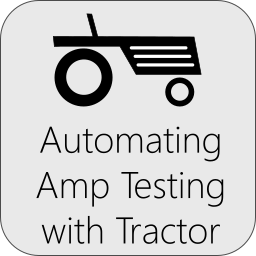 Automated Amplifier Testing with Tractor
