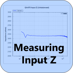 Measuring Input Impedance
