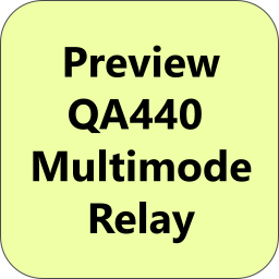 Preview: QA440 Multimode Relay