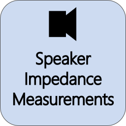 Speaker Impedance Measurements