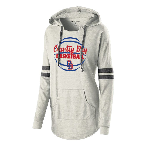 CD GBB - LADIES HOODED LOW KEY PULLOVER