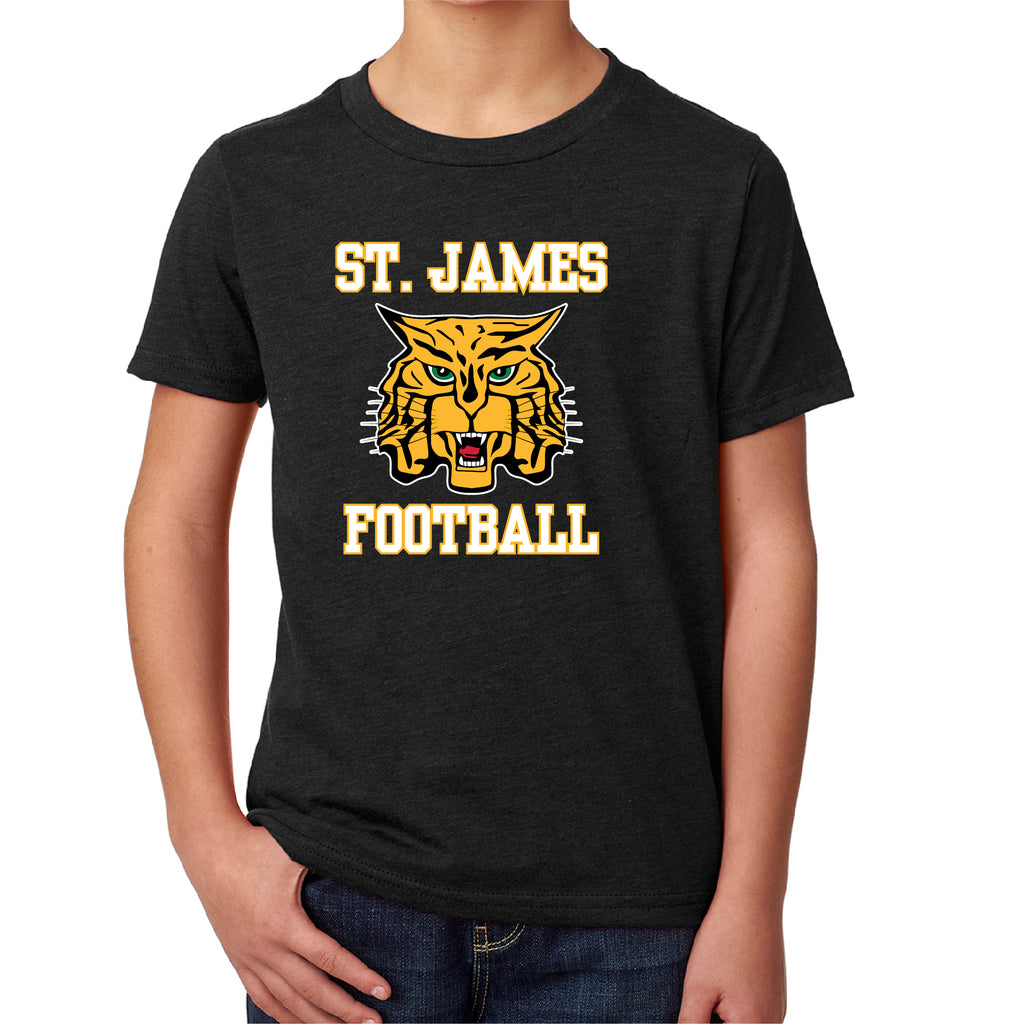 ST. JAMES - YOUTH Next Level CVC S/S TEE