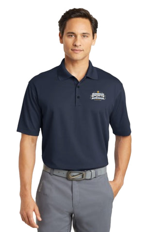 LSHOF - Nike Golf Men's BIG and TALL Dri-Fit Micro Pique Polo (NAVY)