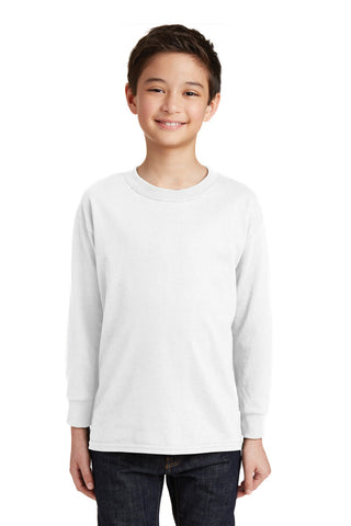 Gildan¨ Youth Heavy Cottonª 100% Cotton Long Sleeve T-Shirt. 5400B