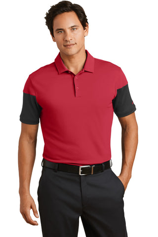 Nike Golf Dri-FIT Sleeve Colorblock Modern Fit Polo. 779802