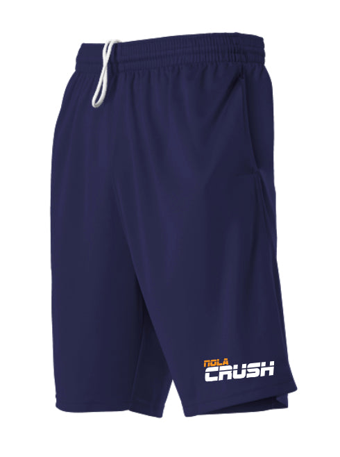 NOLA Crush Baseball - ADULT TECH SHORTS (WITH POCKETS)