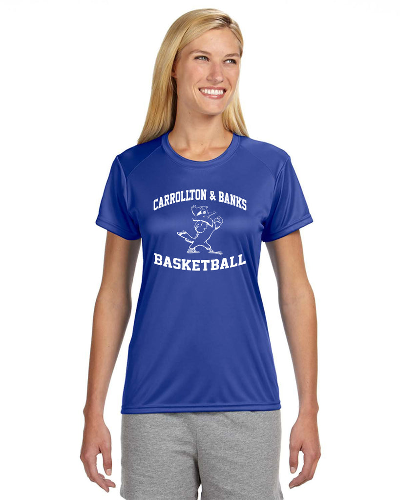 JESUIT - Ladies' Short-Sleeve Cooling Performance Crew (AB-NW3201)