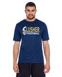 LUSHER - Men's Zone Performance T-Shirt (ABTT11)