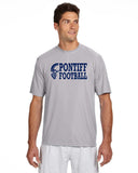 PONTIFF FOOTBALL - Men's Short-Sleeve Cooling Performance Crew (AB N3142)
