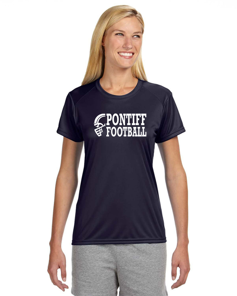PONTIFF FOOTBALL - Ladies' Short-Sleeve Cooling Performance Crew (AB NW3201)