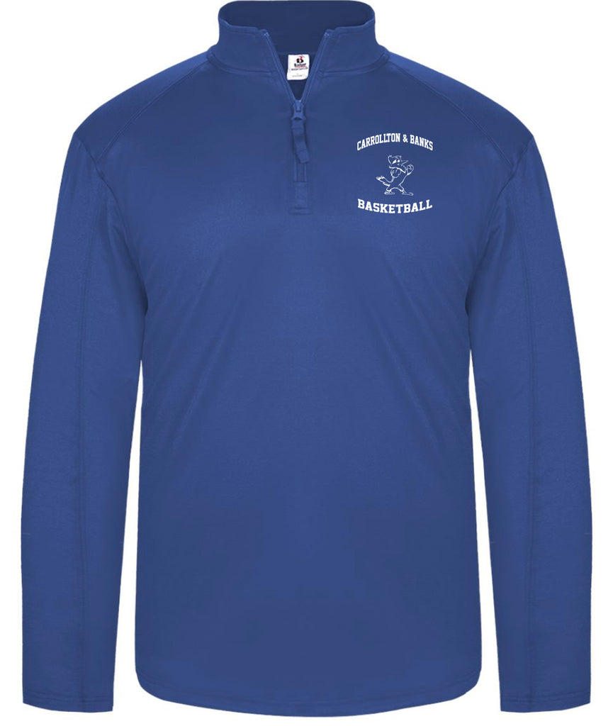 JESUIT - 1/4 Zip Light Weight Pullover (B-4280)