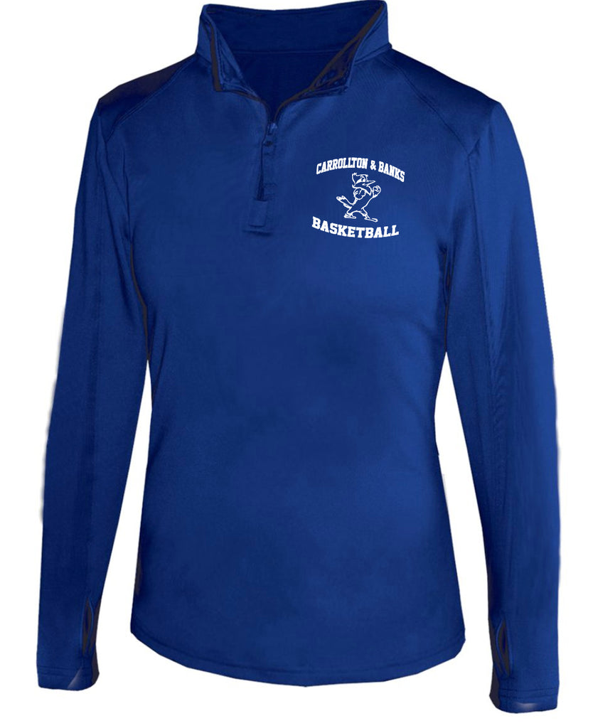 JESUIT - 1/4 Zip Ladies Lightweight Pullover (B-4286)