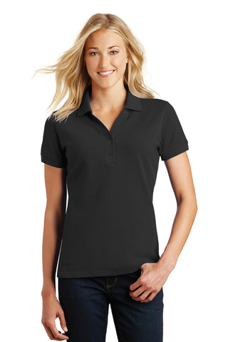 Eddie Bauer® Ladies Cotton Pique Polo. EB101