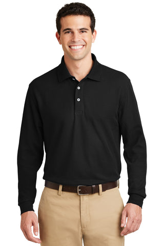 Port Authority® Long Sleeve EZCotton™ Pique Polo. K800LS