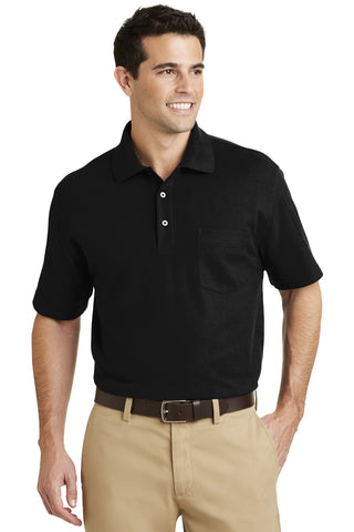 Port Authority® EZCotton™ Pique Pocket Polo. K800P