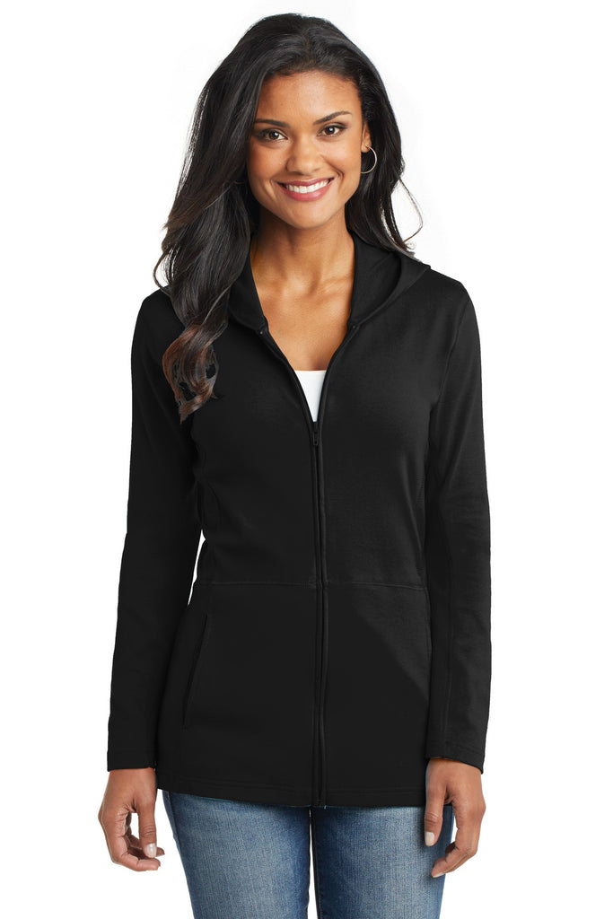 Port Authority® Ladies Modern Stretch Cotton Full-Zip Jacket. L519