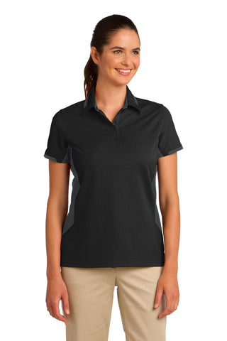 Port Authority® Ladies Dry Zone¨ Colorblock Ottoman Polo. L524