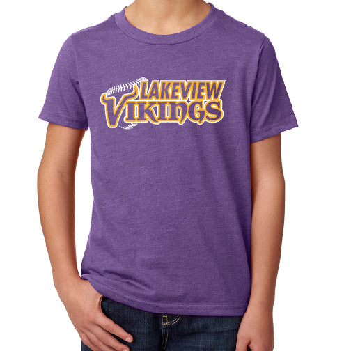 LAKEVIEW - Next Level YOUTH CVC CREW TEE