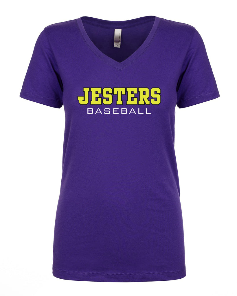 JESTERS 2018 - NEXT LEVEL LADIES IDEAL V-NECK
